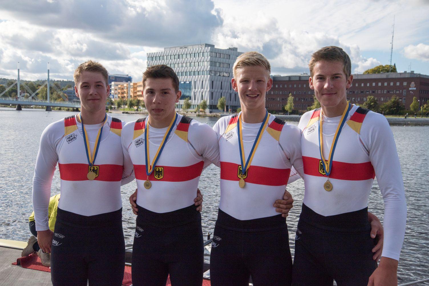 Felix Wüst Doppelsieger auf dem Baltic Cup in Schweden