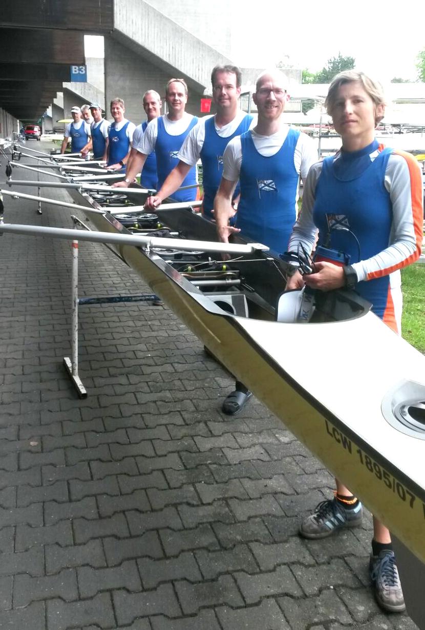 Euro Masters Regatta 2016, 29.-31.07.2016 in München – Oberschleißheim
