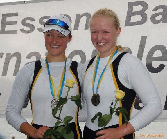Svenja Jonas (LCW) und ihrer Partnerin Svenja Leemhuis (Stuttgart)
