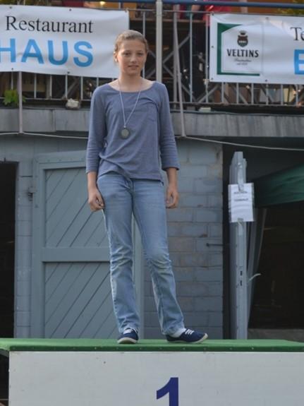 Hannah Nuhn gewann über 3.000m im Einer