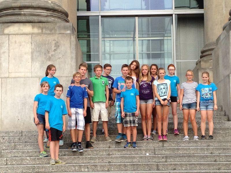 Gruppenfoto der Limburger Kindergruppe