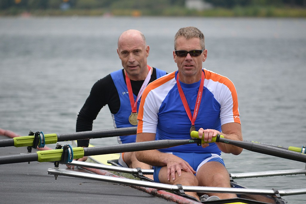 Drei Siege in München für Stefan Heyde und Klaus Schuy (von rechts)