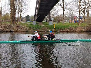U23-Kleinbootüberprüfung des DRVs, 10./11.04.2021 in Köln
